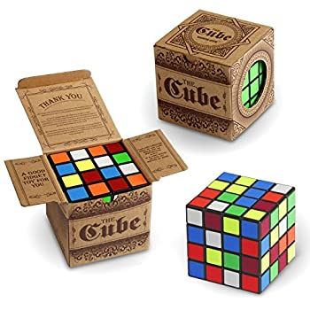 Speed Cube Vamslove Kids Toys 4x4x4 Smooth Brain Teaser Puzzle Turns Quicker Smart Magic Cube Toys for Kids Boys Girls Adults