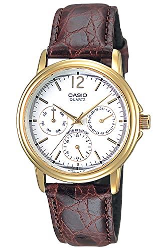 [カシオ] 腕時計 カシオ コレクション MTP-1174Q-7AJH メンズ ブラウン