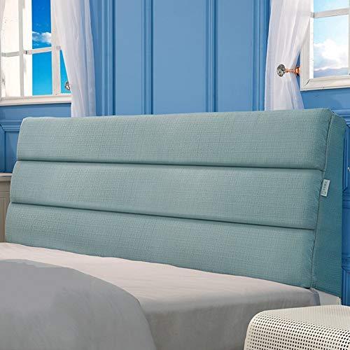 APcjerp Multifuncional extraíble y Lavable Cubrir Grandes Cojín Cama for Cabecera, sofá de la Tela Suave del Bolso (Color: Amarillo, tamaño: 120 * 60 cm) Hslywan (Color : Blue, Size : 90 * 50cm)