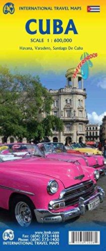 Preisvergleich Produktbild Cuba ( Kuba) 1 : 600 000: La Habana,  Varadero,  Santiago de Cuba (Itm)
