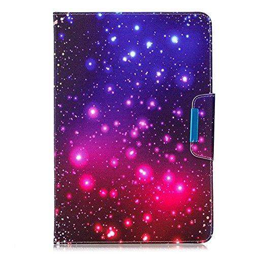 Universal 8 Zoll Kunstleder Tablette Hülle, Katech Flip Kartenfächer Wallet Handy Tasche Case Bumper Cover für für Samsung Galaxy Tab S2 8.0 T719 / Tab S 8.4 T700/ Amazon Fire HD 8 + 1 x Handy Ständer