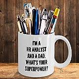 N\A aza del Analista de recursos Humanos Taza de café Regalos para el Padre de recursos Humanos Gerente de recursos Humanos Oficina de recursos Humanos