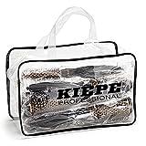Kiepe Italia - Kit de 5 cepillos profesionales Pure Rose Gold