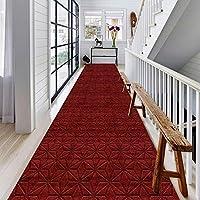 CnCnCn カスタマイズ可能なサイズ プロムナードカーペット キッチン リビングルーム 寝室 エントランス 玄関マット 滑り止め フットパッド、 9色のオプション (Color : G, Size : 140x300cm)