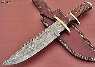 REG UM-47 Handmade Damascus Steel 12.00 Inches Hunting...
