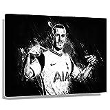 Fußballstar Gareth Bale Poster Kunstdrucke auf Leinwand,
