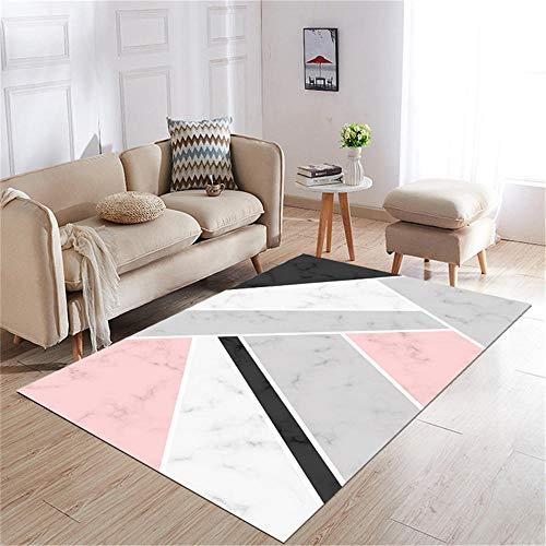 alfombra infantil niño alfombras para comedor Alfombra de sala de estar antideslizante y antideslizante decoración de dormitorio rectangular suave alfombras lavables salon 60X90CM 1ft 11.6'X2ft 11.4'