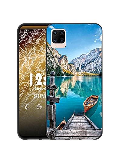 Sunrive Kompatibel mit ZTE Smartphone AXON 11 Hülle Silikon, Transparent Handyhülle Schutzhülle Etui Hülle (Q See)+Gratis Universal Eingabestift MEHRWEG