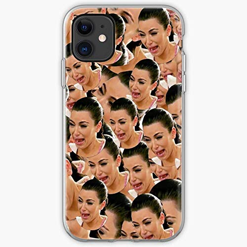 Crying Kim Gifts Kardashian | Unique Design Snap Phone Case Cover Fit for iPhone 12 12 Pro Max 11 Pro Max Mini X XR SE 2020/8/7 6 6s Plus