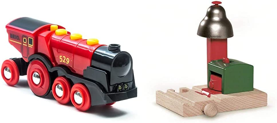 BRIO World 33592 Mighty Red Operated Locomotive half Action Jacksonville Mall Battery