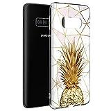 Pnakqil Coque Samsung Galaxy S4 Mini, Etui en Silicone 3D Transparente avec Motif Dessin Antichoc TPU Housse de Protection Case Cover Bumper Coque pour Téléphone Samsung S4 Mini,-Le marbre 1