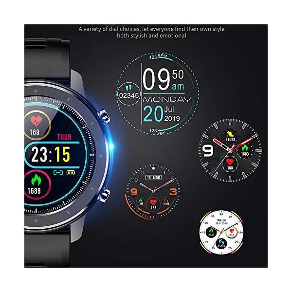 Reloj Inteligente Hombre, Smartwatch con Pantalla táctil, Fitness Tracker Impermeable IP68, Reloj Pulsometro Deportivo… 7