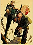 LIWENHAO Hochwertige Posterjapanese Comics Gangsta Poster