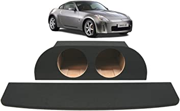 Compatible with 2003-2008 Nissan 350Z Custom Dual 10