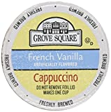 40-count cups Portion Packs for Keurig K-cup Brewers, Grove Square Cappuccino
