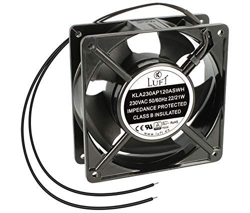 LUFT Ventilador con COJINETE DE FRICCIÓN 220V AC 120x120x38mm