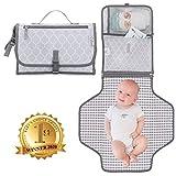 Comfy Cubs Baby-tragbare Wickelunterlage mit Taschen