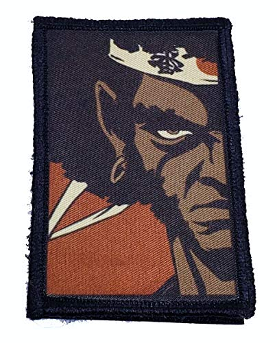 Afro Samurai Morale Patch. Perfect for Your Tactical Military Army Gear, Backpack, Operator Baseball Cap, Plate Carrier or Vest. 2x3' Hook Patch. Made in The USA