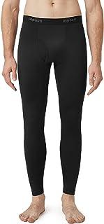 LAPASA Men's Thermal Underwear Bottoms, Fleece Lined Long Johns Leggings Light/Mid/Heavy Weight 1 & 2 Packs (Thermoflux M1...