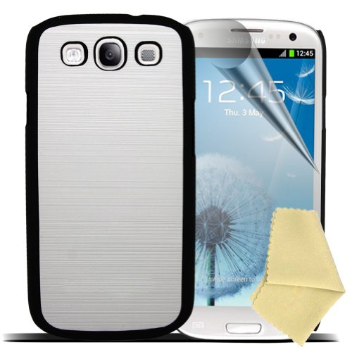 Accessory Master beschermhoes + displaybeschermfolie voor Samsung Galaxy S3 i9300, harde schaal, design