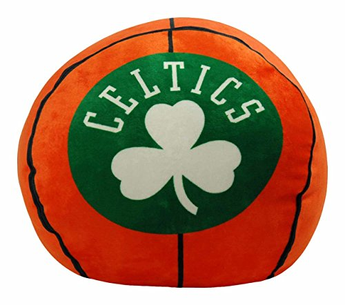 Officially Licensed NBA Boston Celtics 'Cloud' Pillow, Orange, 11'