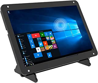 7 Inch Touchscreen Monitor voor Raspberry Pi, Draagbare IPS Display 1024* 600 HDMI Touchscreen met Case, voor Gaming Conso...