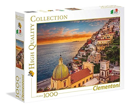 Clementoni Collection-Positano Puzzle, 1000 Piezas, Multicolor (39451.7)