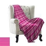 BelleAckerman - Manta para sofá, diseño de caballos de doodle, color blanco y negro, poliéster, Color 15, 60'x70' Inch
