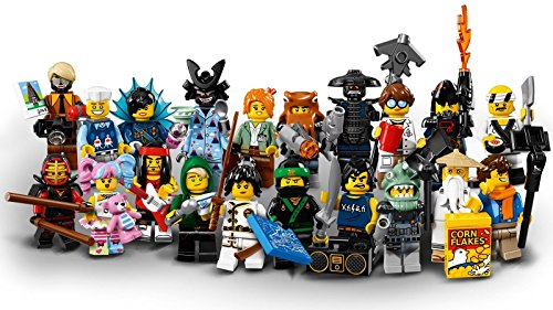 LEGO Ninjago Movie Collectible Minifigures - Complete Set of 20 minifigures sealed (71019)