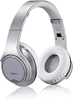 Sodo MH1 2-in-1 Wireless Bluetooth On-Ear Headphones and Twist Out Bluetooth Speaker - Silver