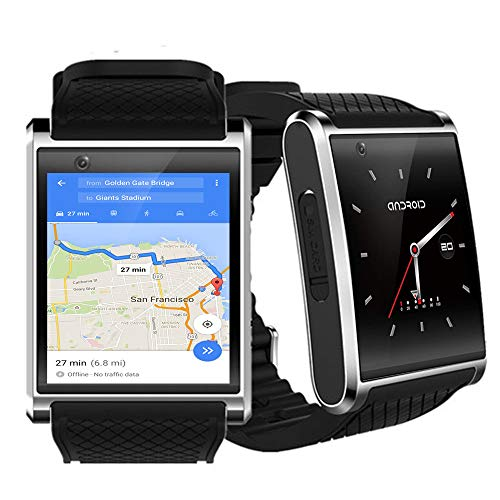 NEW 2018 1.54-inch OLED Android 5.1 OS SmartWatch (QuadCore CPU + 512mb RAM + Google Play Store w/WiFi