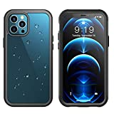 Temdan for iPhone 12 Pro Max Case 6.7', 361° Protect Built in Screen Protector with Premium Composites Shockproof Dustproof Anti-Scratch Clear Case for iPhone 12 Pro Max 6.7 inch-2020