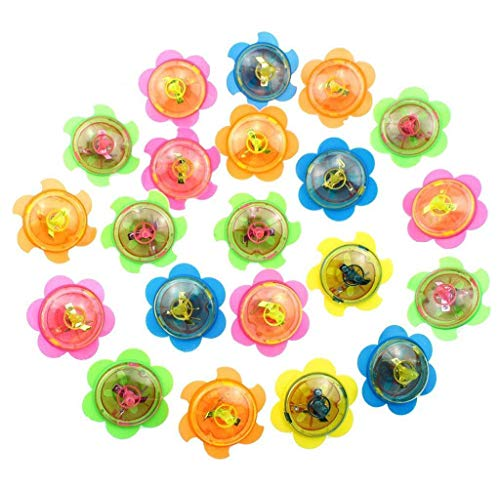 CigouFunny LED Light Up Tiny Toy Fidget Spinner Stress Relief Gift Gyroscop Toy