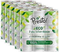 Amazon Brand - Presto! Toilet Tissues