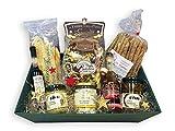 Vegetarischer Feinkost Geschenkkorb GUSTOSO mit ausgesuchten italienischen Delikatessen Spezialitäten ohne Alkohol