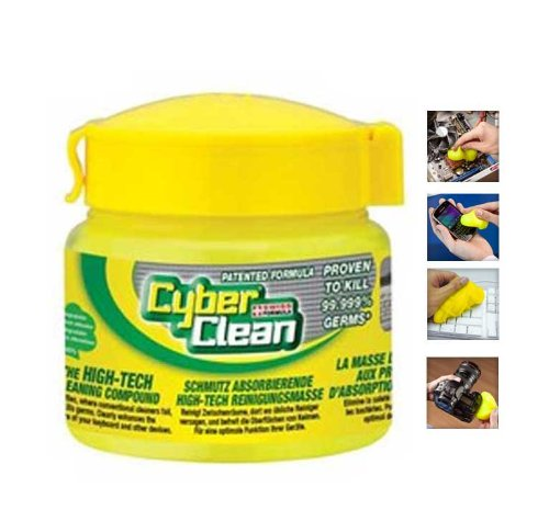 Cyber Clean Home & Office Reinigungsmasse Schmutzabsorbierende High-Tech Reinigungsmasse (Pop Up Home & Office 145 gr.)