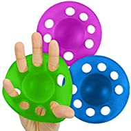 Vive Finger Exerciser and Hand Strengthener - Grip Stretcher Balls - Therapy Exercises for Arthritis, Carpal Tunnel, Forearm Muscle Strength Band Guitar, Rock Climbing Resistance Strengthening