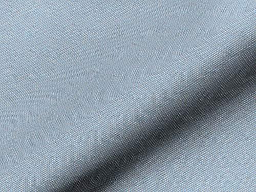 Tela para muebles TOPOLINO patrón abstracto color azul, resistente al agua de mar, difícilmente inflamable como tela de tapicería robusta estampada para coser y relacionar, poliéster Trevira CS