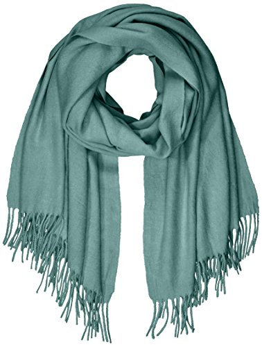 PIECES Damen PCJIRA Wool Scarf NOOS Schal, Grün (Balsam Green), One Size