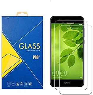 Glass Com 2-pack displayskyddsfolie härdat glas HUAWEI Nova 2 Plus/Nova 2 +/Nova2 +/Nova 2plus/bac-al00/bac-l21/bac-tl00 –...