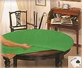 Mantel verde mesa DIÁMETRO ROTONDA cm 135