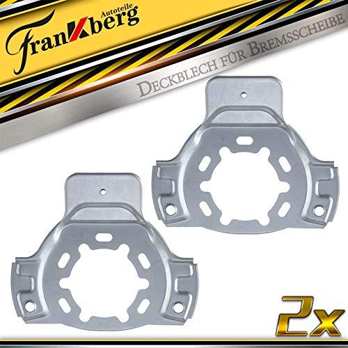 2x Deckblech Spritzblech Ankerblech Abdeckblech Spritzblech Bremsscheibe Vorne für Astra G 1998-2009 0543070