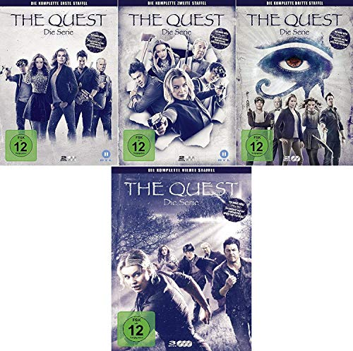 The Quest - Die Serie Staffel 1-4 im Set - Deutsche Originalware [9 DVDs]