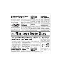 SHUOYUE ベーキング紙包装紙食品包装紙サンドイッチサンドイッチキッチン用品 (Colore : A1 Newspaper)