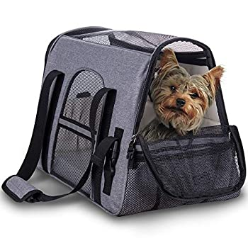 Pet Carrier - Airline Approved Under Seat Soft-Sided Travel Carrier for Small Dogs and Cats