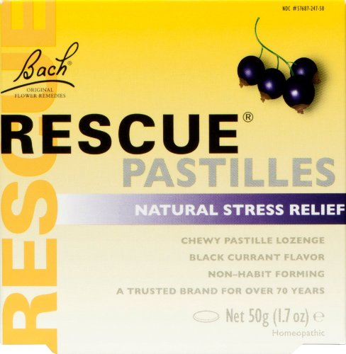 Bach Original Rescue Pastillen Orange-Holunder, 50 g