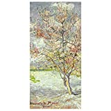 Bilderwelten Panel japones - Vincent Van Gogh - Peach Blossom 250 x 120cm sin Soporte
