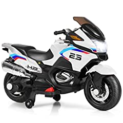 Easy Operation for Cheerful Driving: Kids can shift forward/ backward level within arm's reach to control the motorcycle forward or backward with safe speed. Besides, with foot pedal and handlebar, you can control variable speed by throttle (up to 4 ...