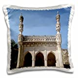Angelique Cajam India - Fort Gloconda views landscape - 16x16 inch Pillow Case