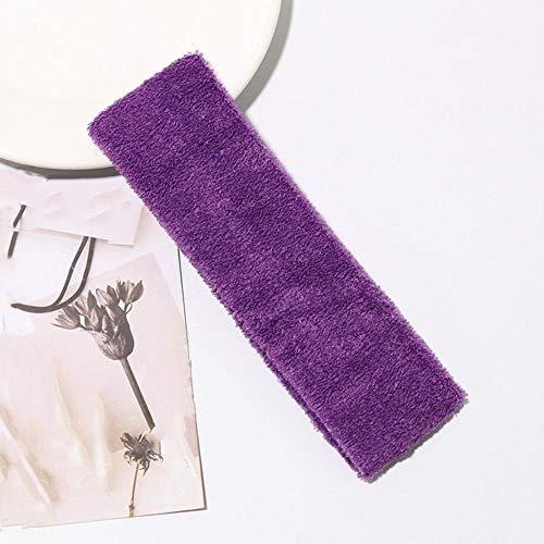 ATUCCO 1 stück heißer Sport Yoga Gym Stretch Stirnband Haarband schweiß schweißband Herren Frauen turbante Pelo Mujer, lila